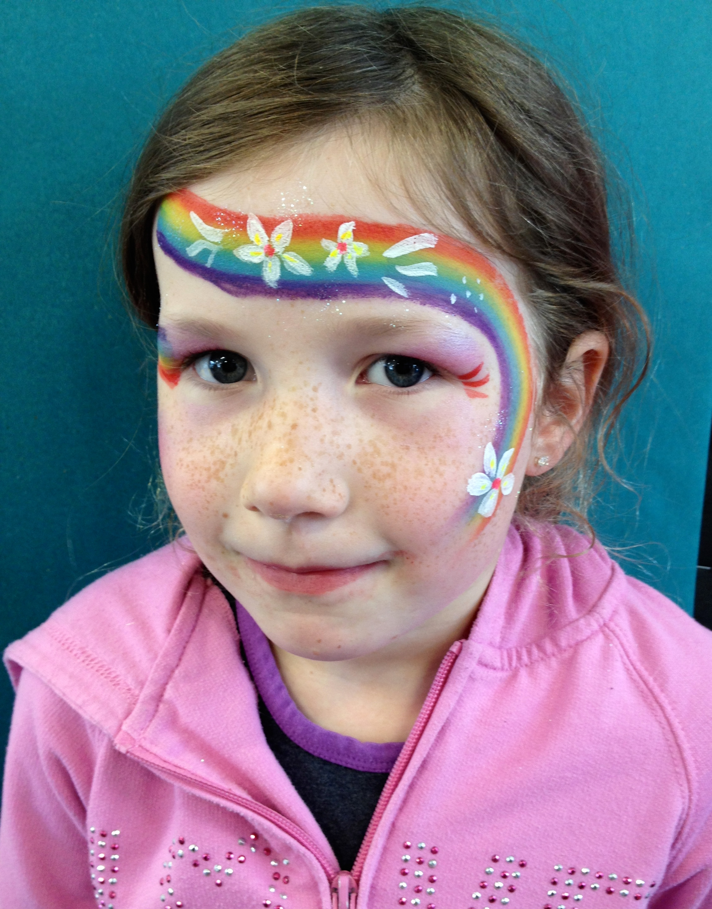 Face painting is a gre...